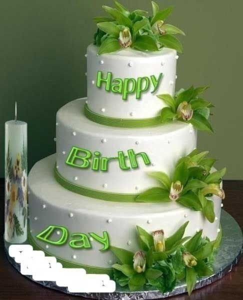 Happy Birthday Huge Cake Images