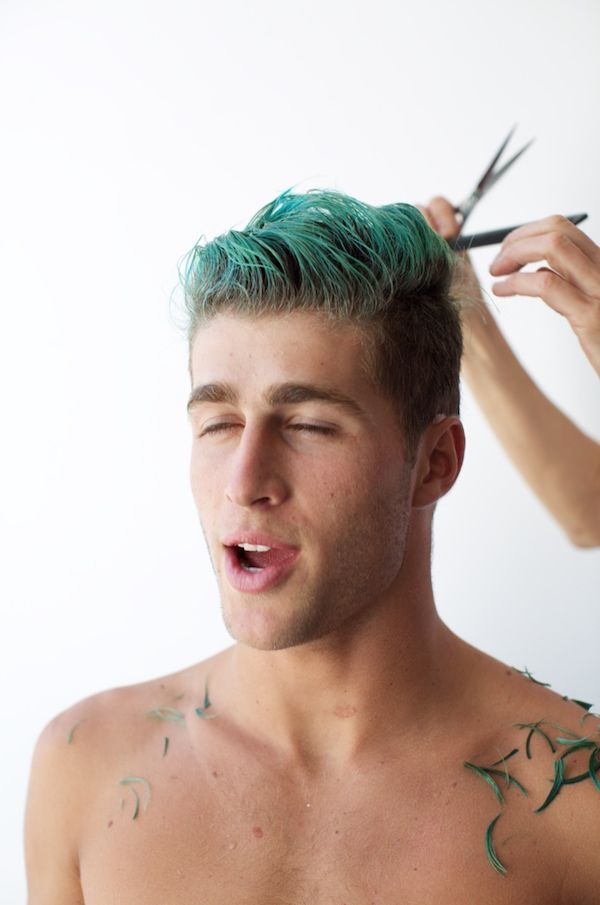 This Surfer Dyes His Hair Crazy Colors And Always Looks Insanely