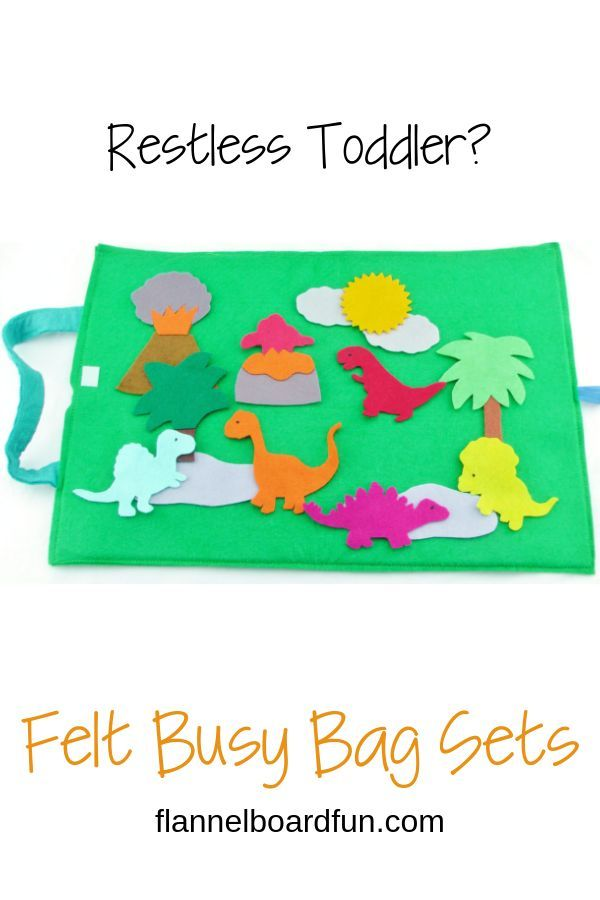 Toddler or preschooler going crazy?  Need something portable and light to take along with you?  These felt board sets are perfect travel toys to use on the go!  Check out all the varieties! #felttoys