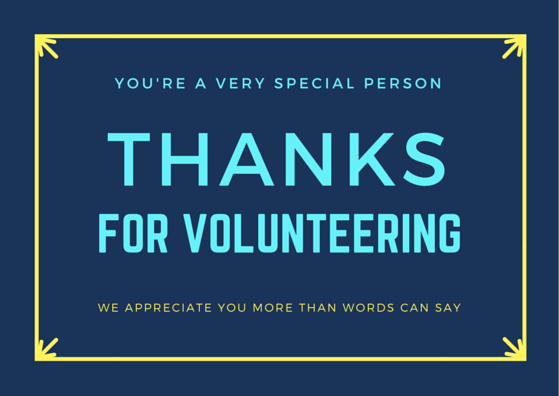 Volunteer Thank You Cards It S A Party Pinterest Thank You