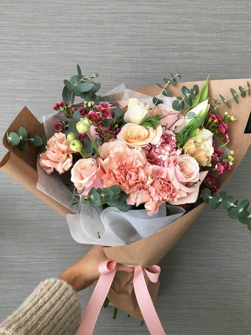 My Sweetie By Leafy Floral Design Flowers Bouquet Valentines Flowers Flower Delivery