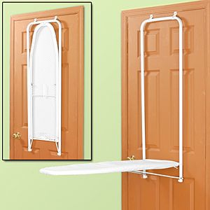 Over Door Ironing Board. I Love This, Iu0027m Always Too Lazy To