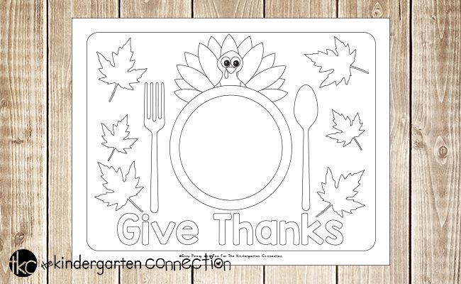Fun Printable Thanksgiving Placemats Thanksgiving Placemats Thanksgiving Printables Thanksgiving Crafts Preschool
