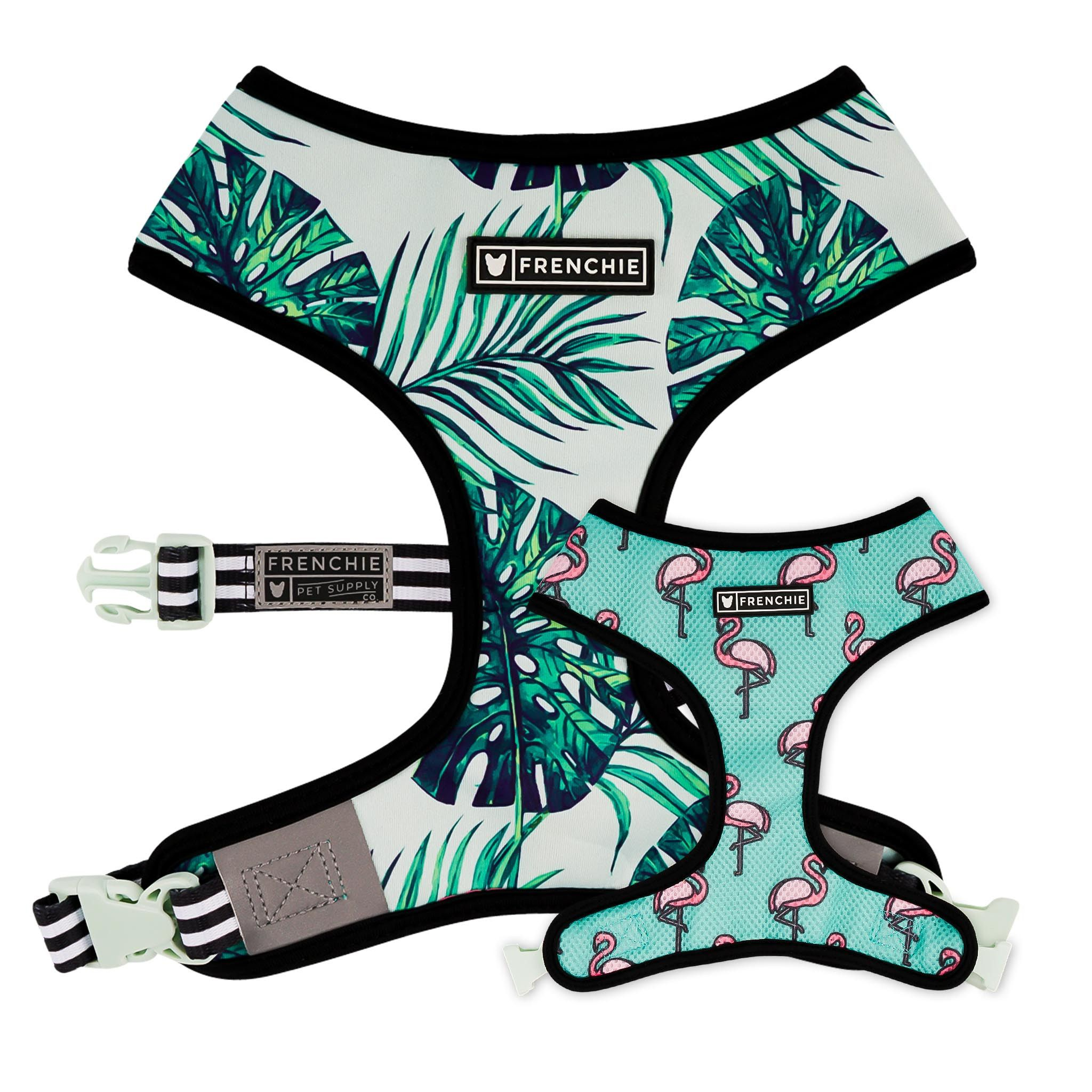 Frenchie Reversible Harness BEVERLY PALMS Frenchie