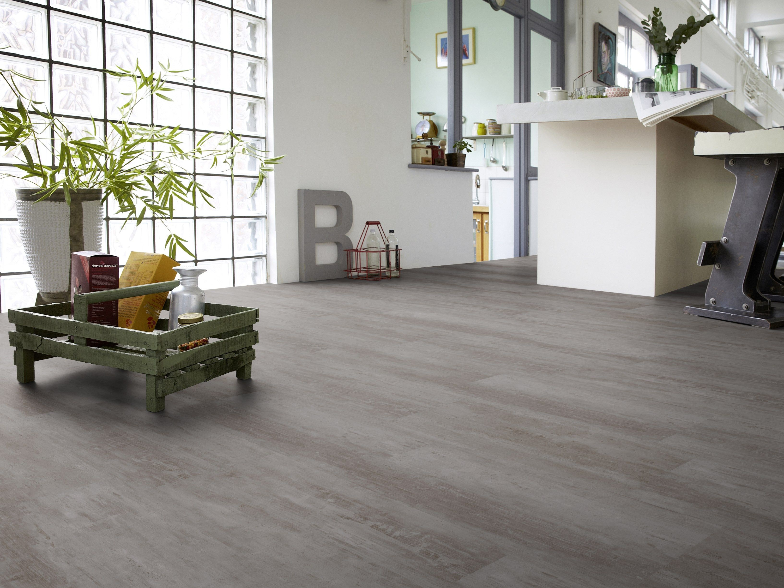Pavimento in vinile effetto legno starfloor click by tarkett