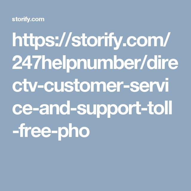 directv support phone