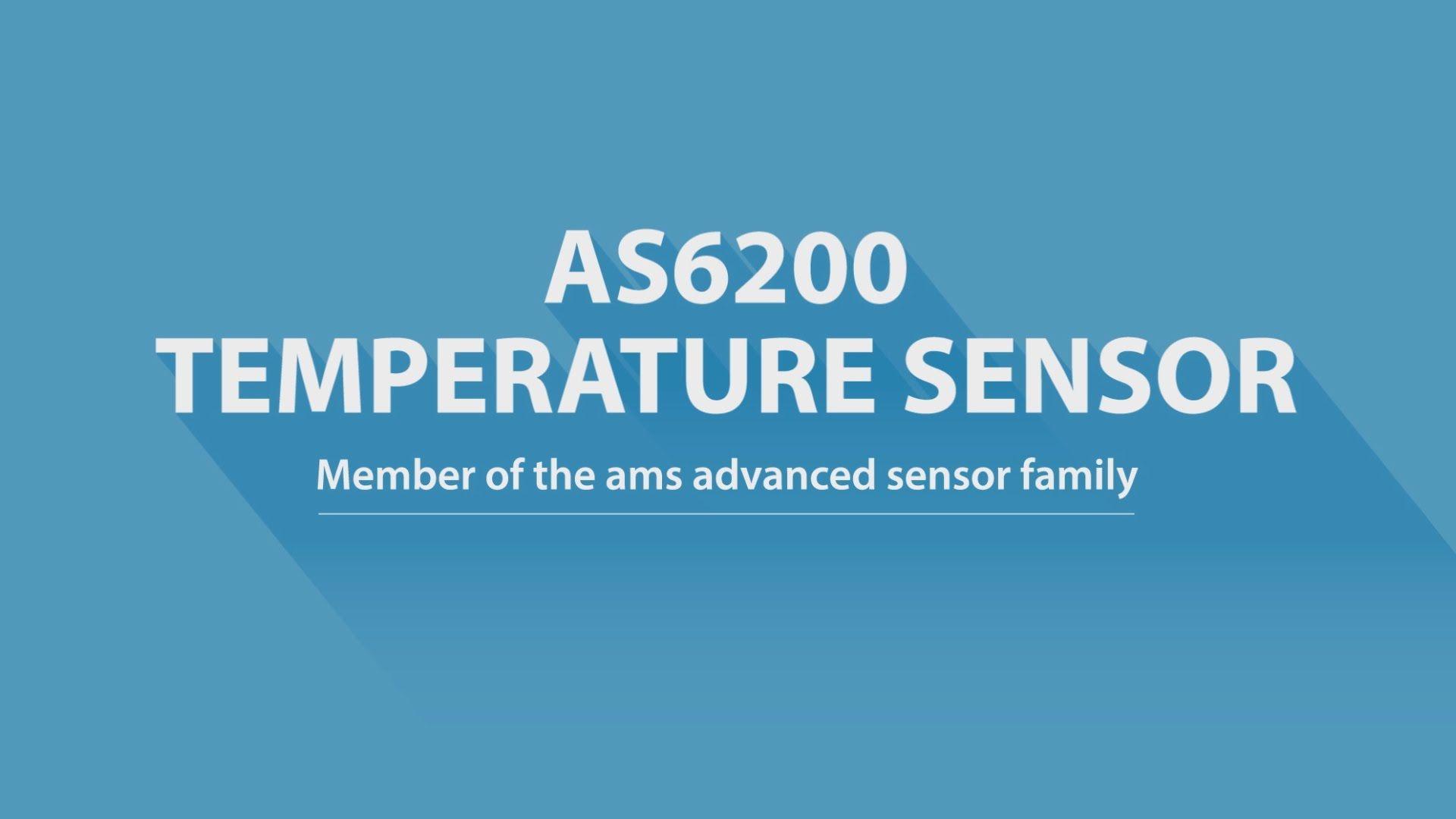 ams AS6200 Temperature Sensor Digital
