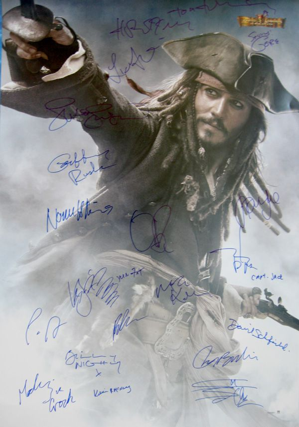 pirates of the caribbean at worlds end original 27x40