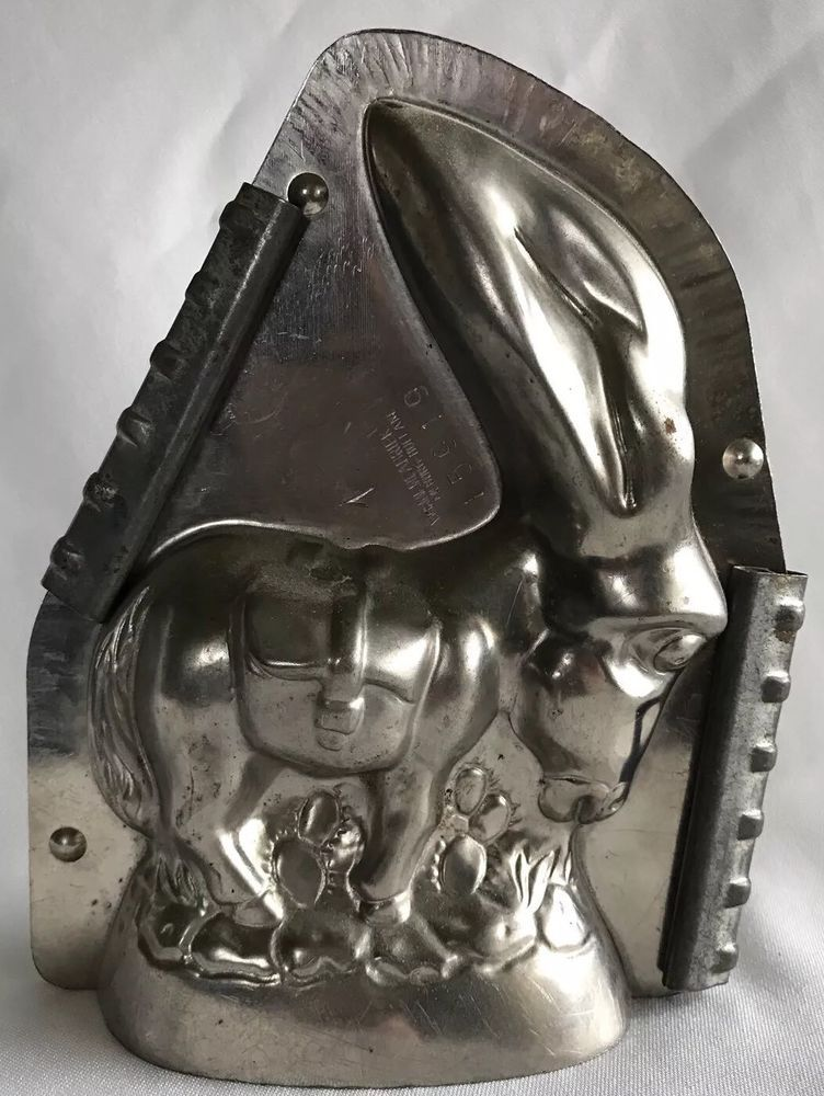 Cupid Heart Antique Pewter Ice Cream Mold 1102 By E /& Co NY