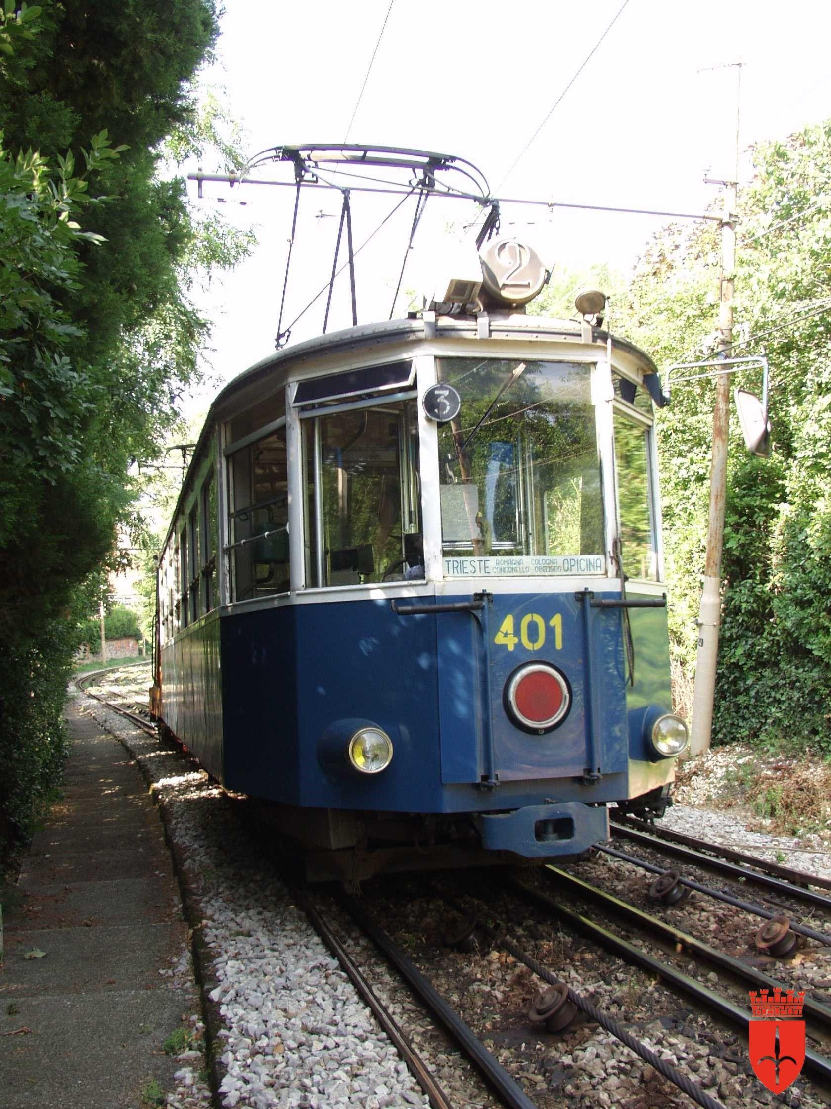Tram di Opicina La linea storica a trazione elettrica
