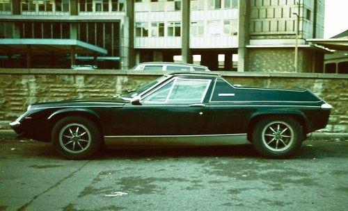 Lotus Europa west London 1974