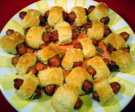Mini PigsInABlanket  Recipe  Mini pigs Blanket and Sausage