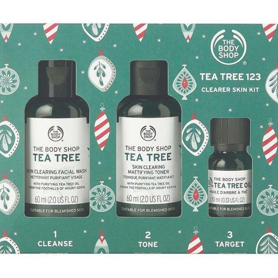 The Body Shop Tea Tree 123 Clearer Skin Kit Ulta Beauty The Body Shop Body Shop Tea Tree Facial Wash