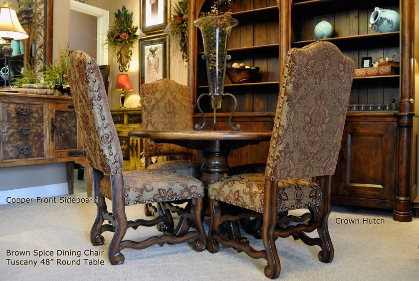 Old World Dining Chairs Dining Chairs Tuscan Dining Rooms Dining Room Sets