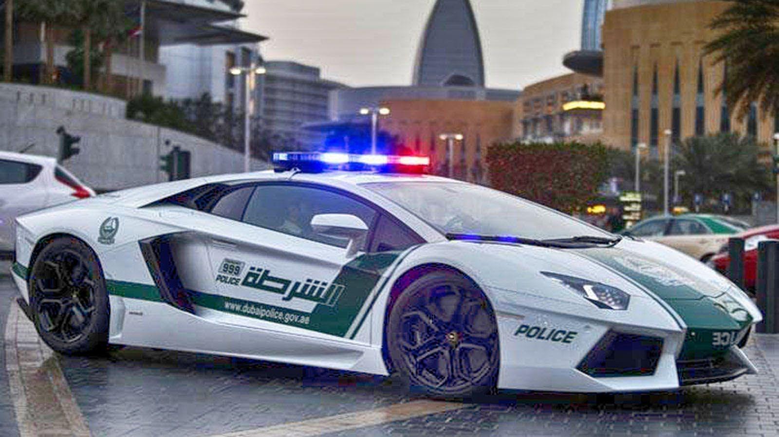 Полиция Дубаи в действии! Dollar car rental, Enterprise