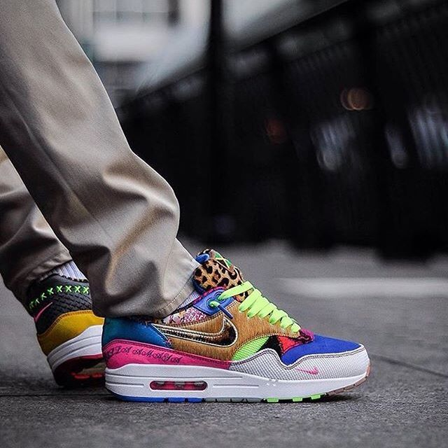 low priced 482fe 99da7  nikesportswear Air Max 1 Bespoke- Chubster favourite ! - Coup de cœur du  Chubster ! - shoes for men - chaussures pour homme -  chubster  barnab   kicks ...
