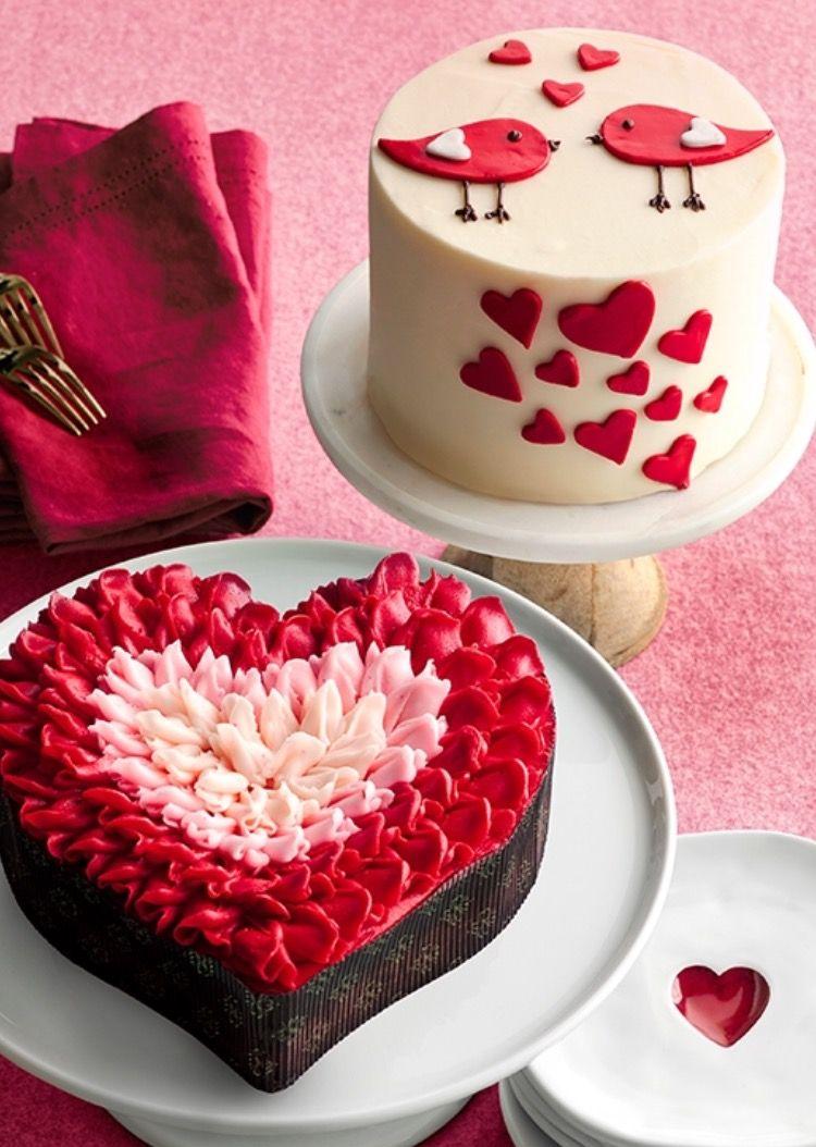 Cake Designs Valentines Day Cakes Valentines Food