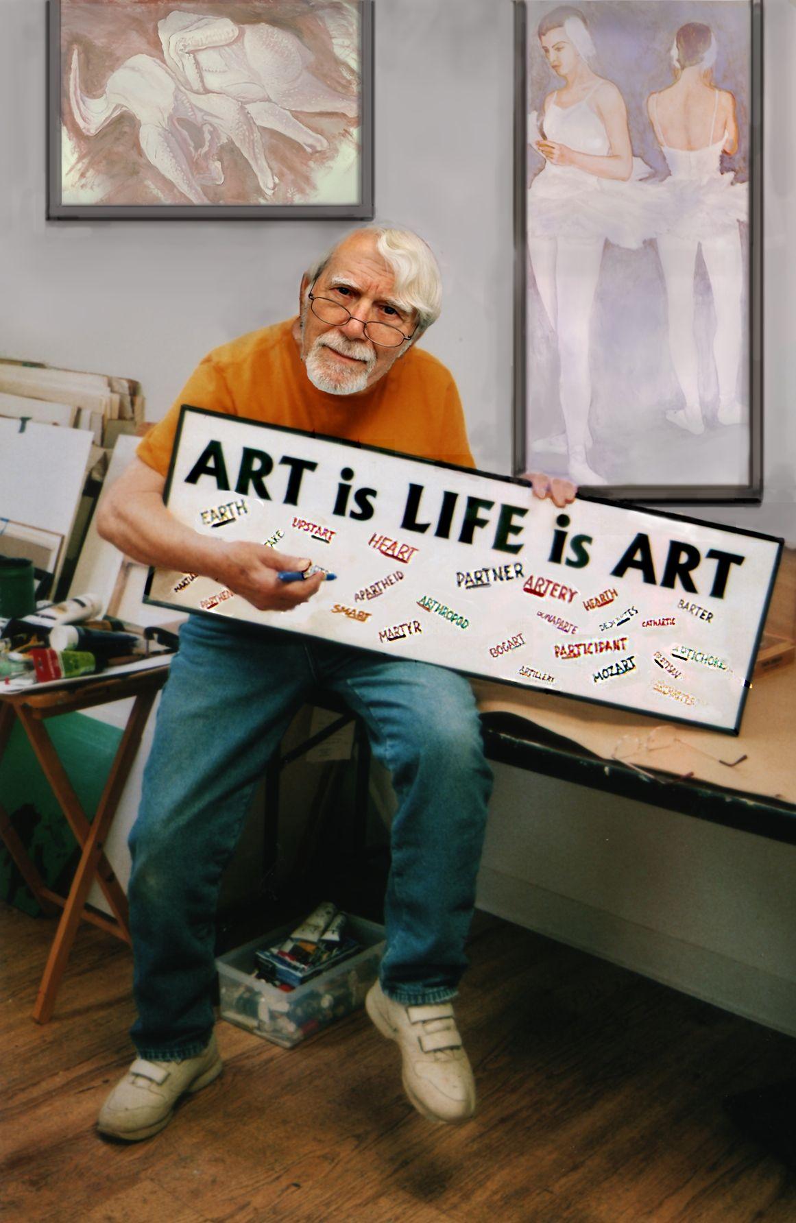 Artist teacher theologian social activist and art