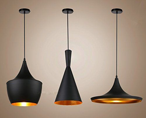 esstischlampe schwarz gold
