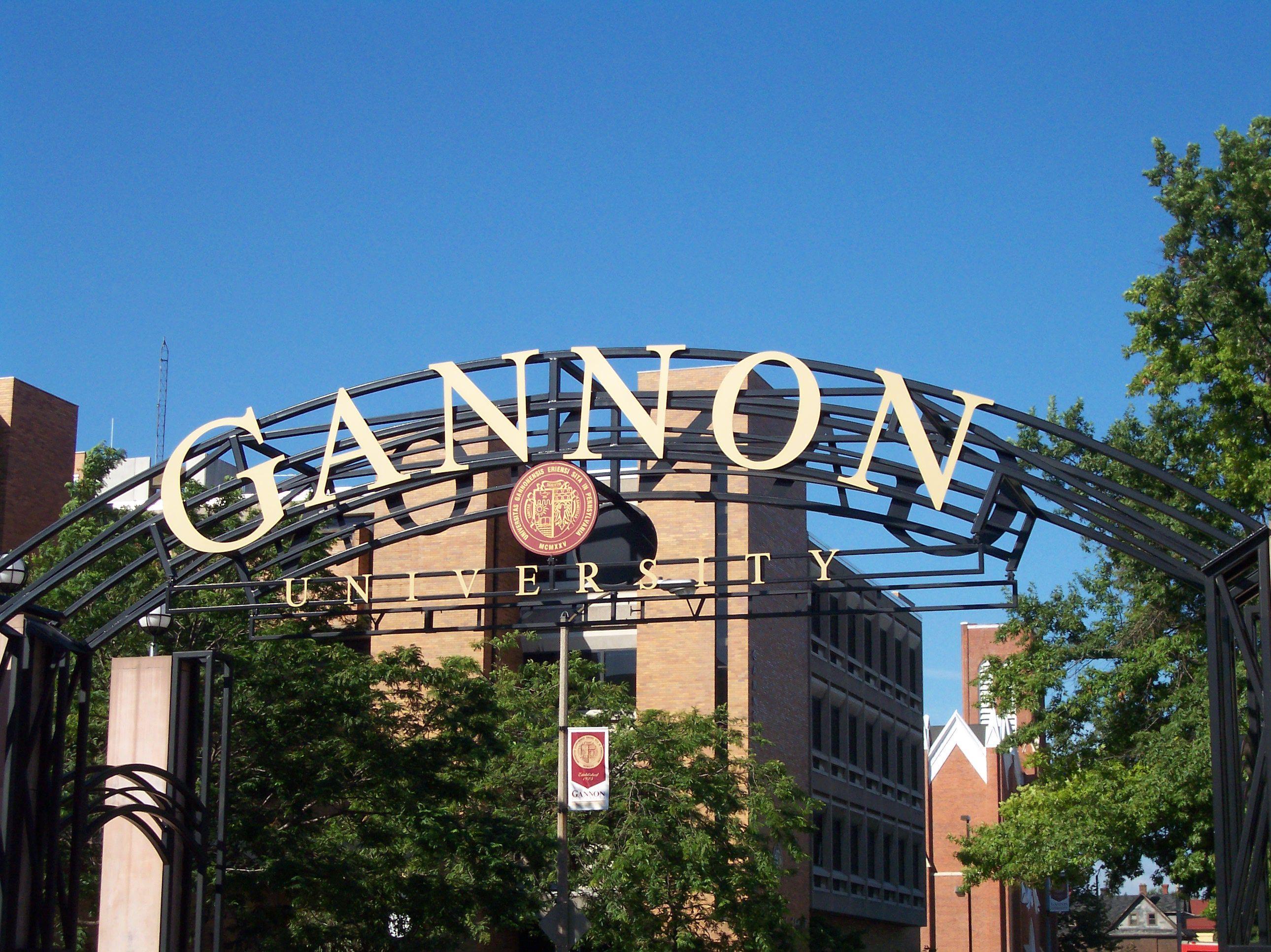 Gannon University Arch Gannon University Catholic Colleges