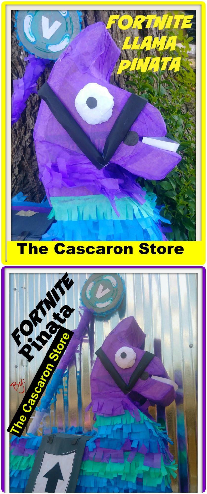 llama pinata, Fortnite pinata, Birthday ideas, custom pinatas, party