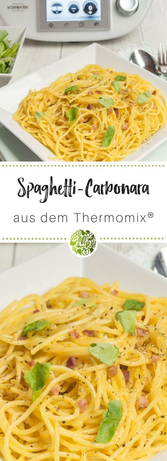 Photo of Spaghetti Carbonara recipe from Thermomix® – will-mixen.de