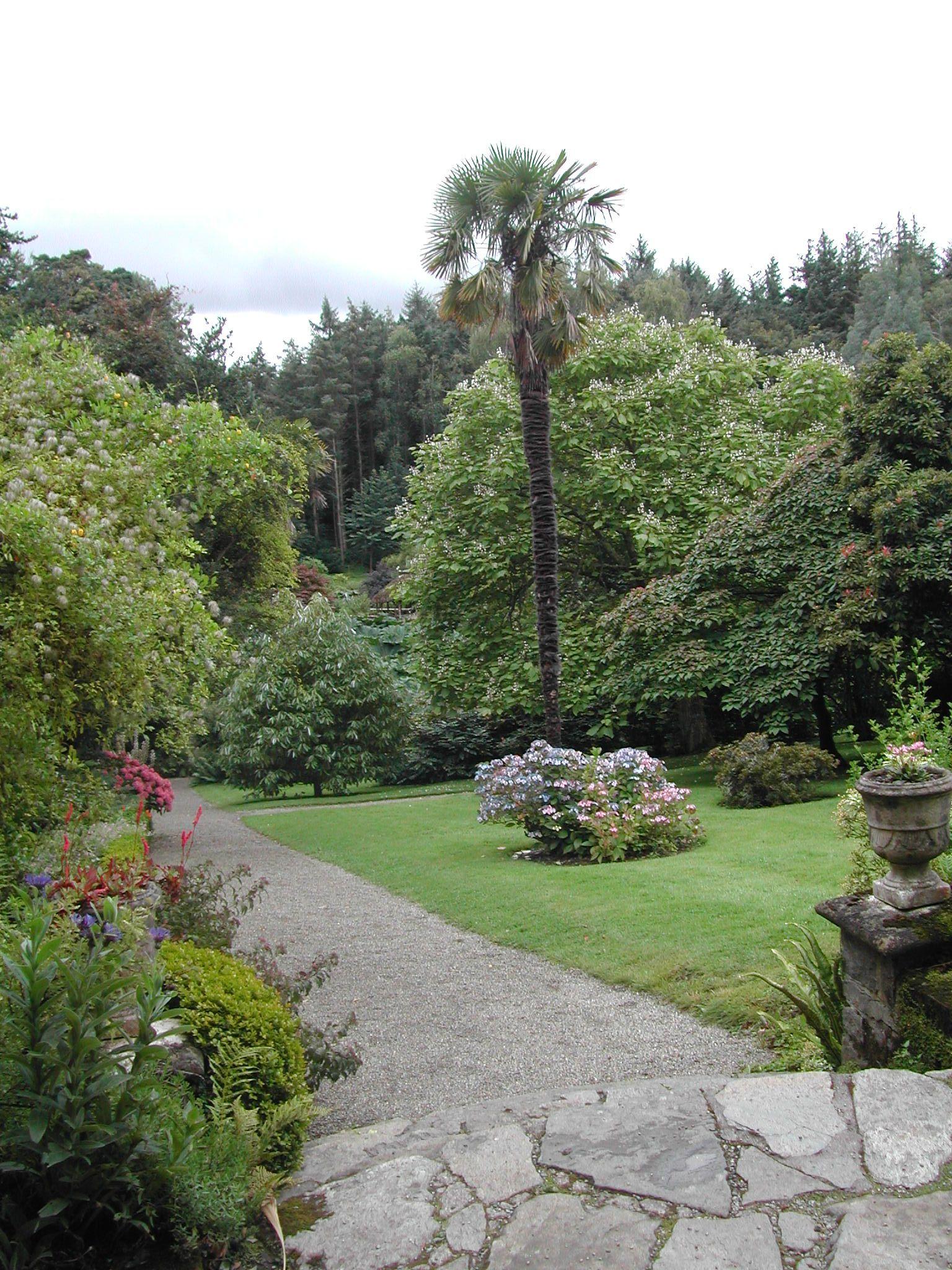 The Walled Garden At Penrhyn Castle Gwynedd Wales Jardines Y Casas Garden Castle Wales