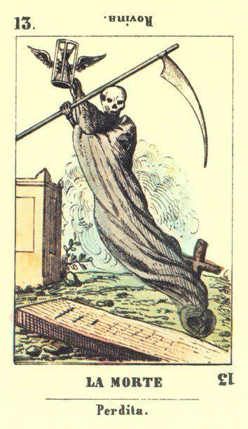 Rebirth Divination Card: The Death Tarot Card >>> Virtual-fortune-teller.com