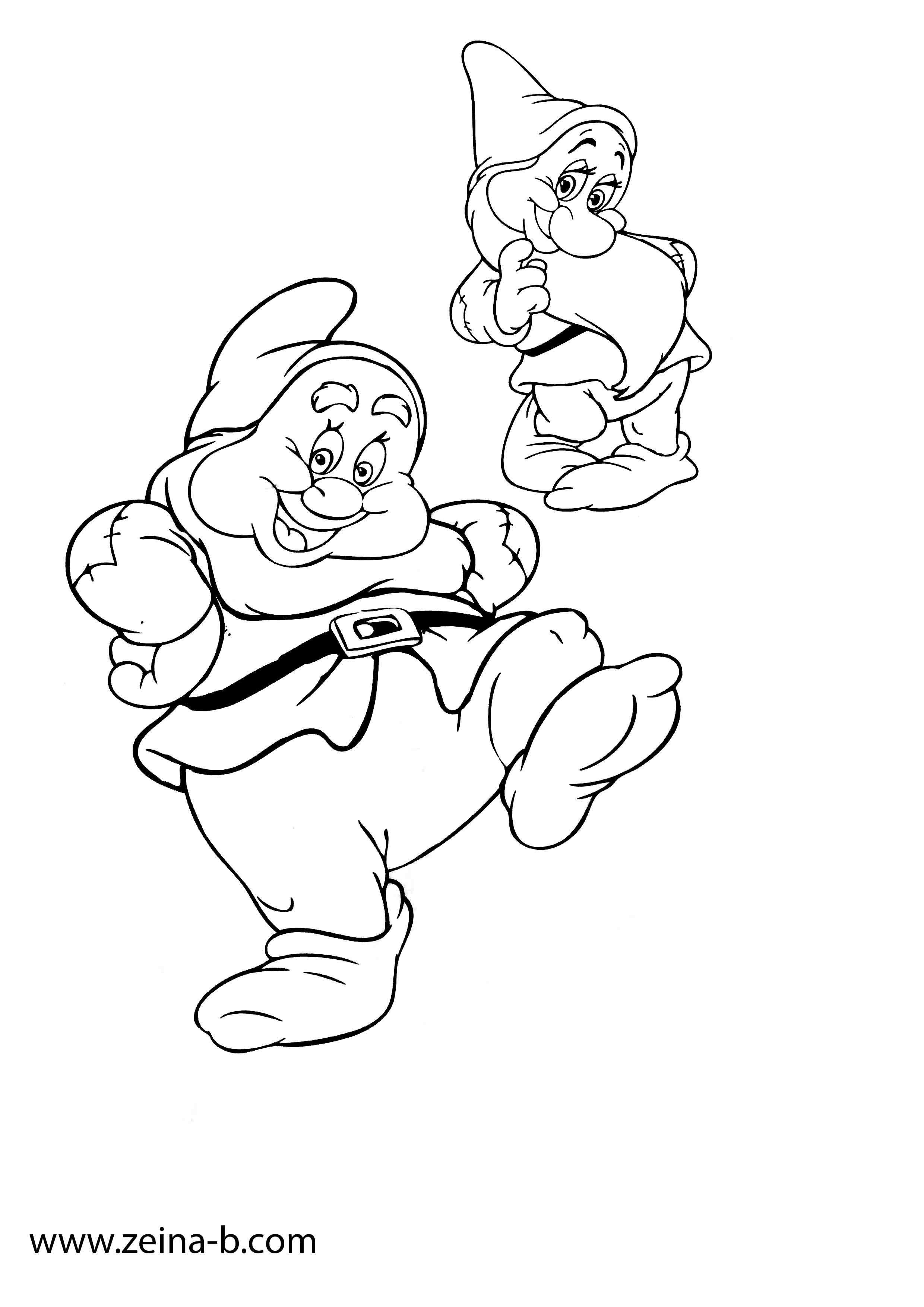 صور رسومات للتلوين للأطفال Art Fictional Characters Print