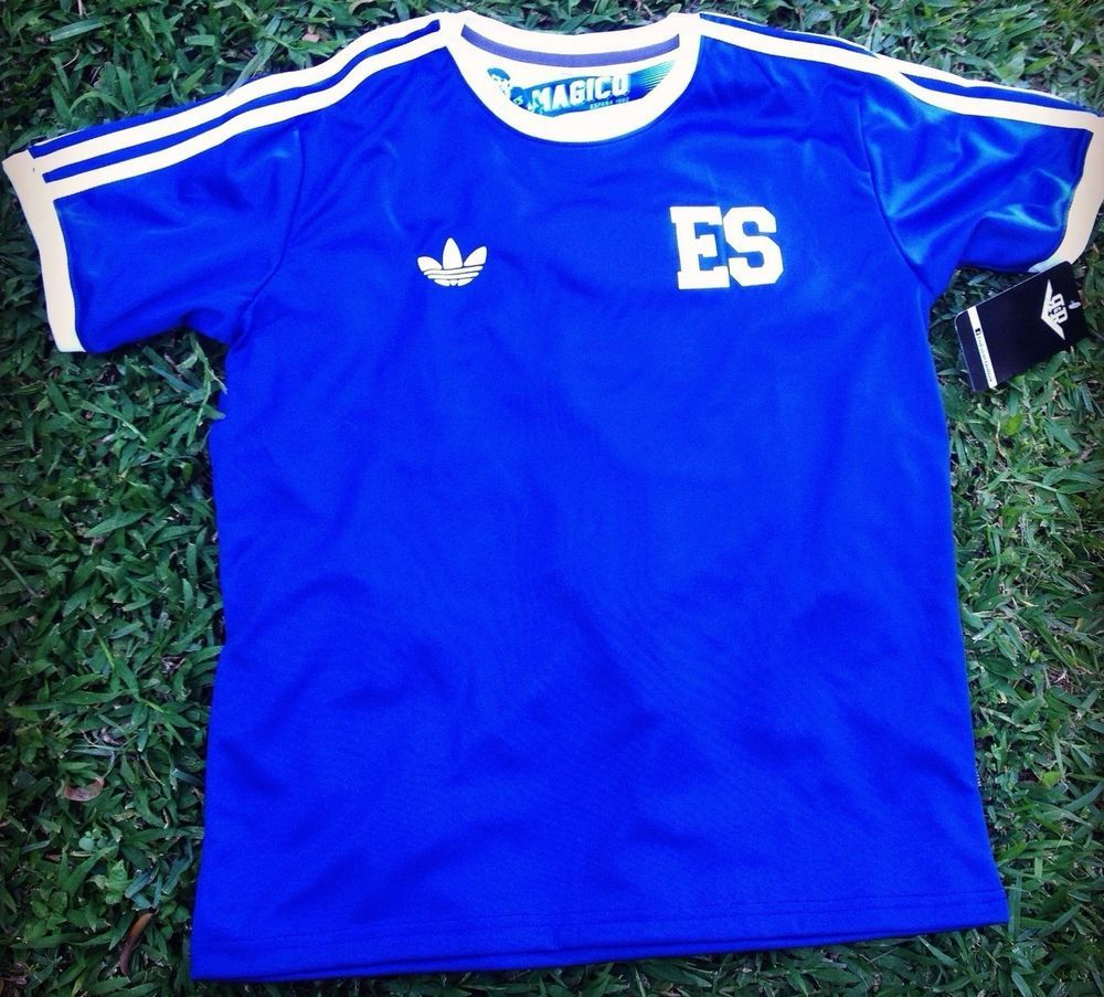 El Salvador 1982 Training Retro Jersey