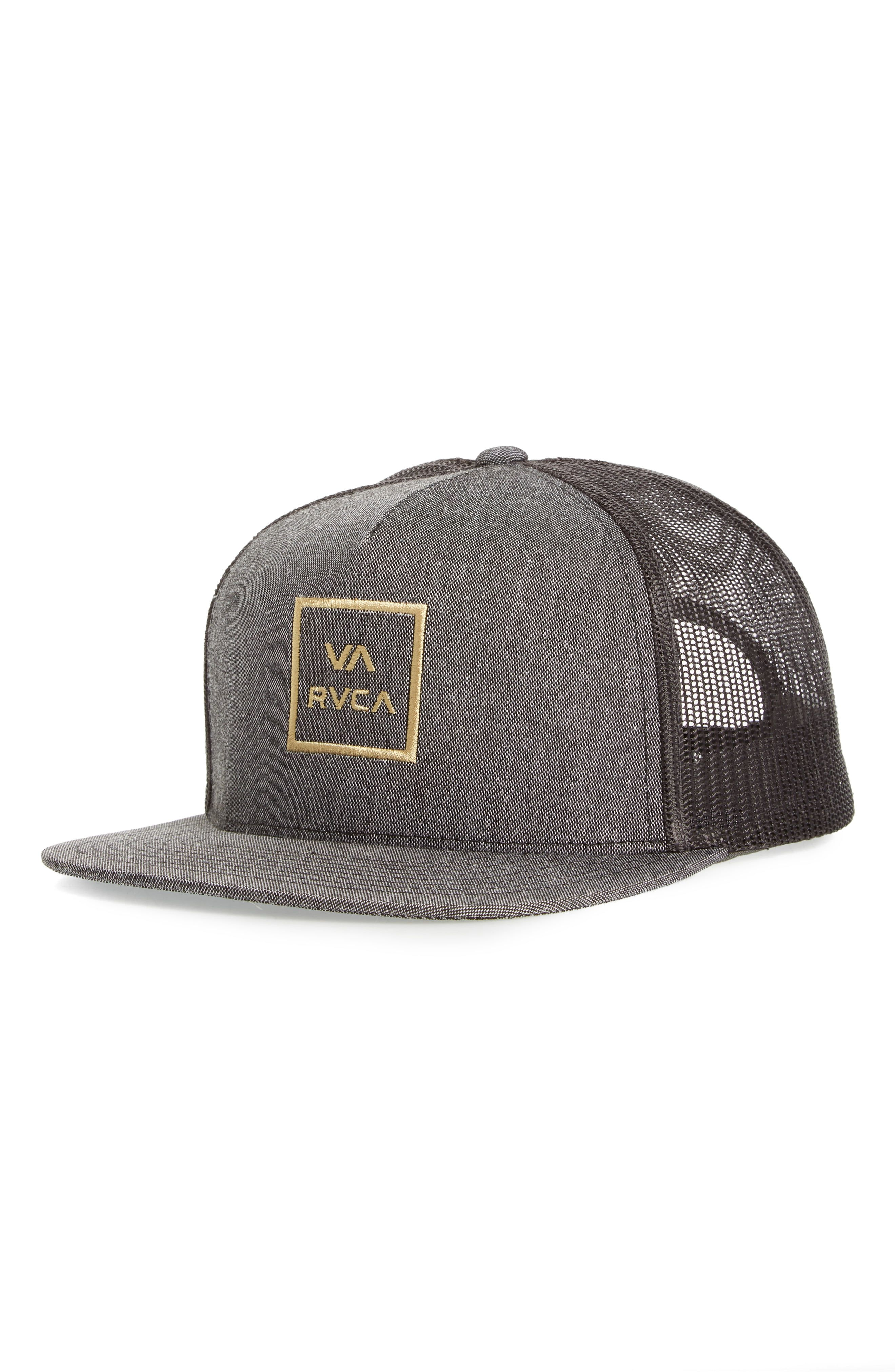 fcda2659c0c520 RVCA VA All the Way Trucker Hat in 2019   Products   Hats, All The ...