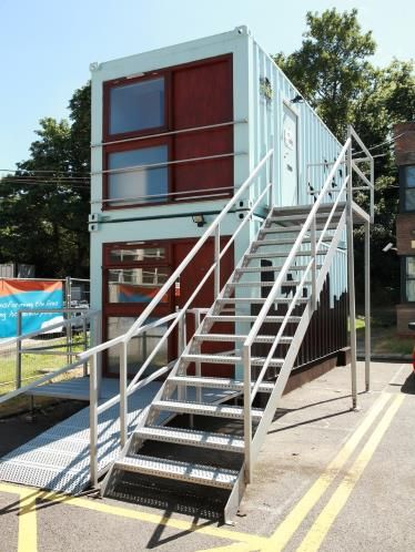 Live In A Shipping Container For 75 A Week Container Apartments Shipping Container Architecture Container Buildings