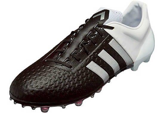 promo code 108bc 0b7dd adidas ACE 15+ Primeknit FG - Black & Silver | SoccerMaster ...