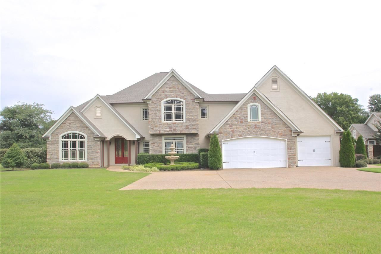6294 Brunswick Road Lakeland Tn 38002 Spectacular Custom Built Home With Separate Mother In Law Quarters On 4 77 A Custom Built Homes Lakeland Smooth Ceiling