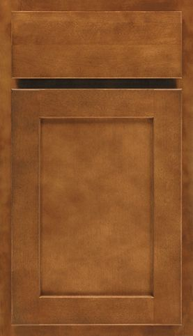 Door Style Benton Clean Simple Shaker Offers Broad Eal At An Shape Square Wood Maple Finish Saddle