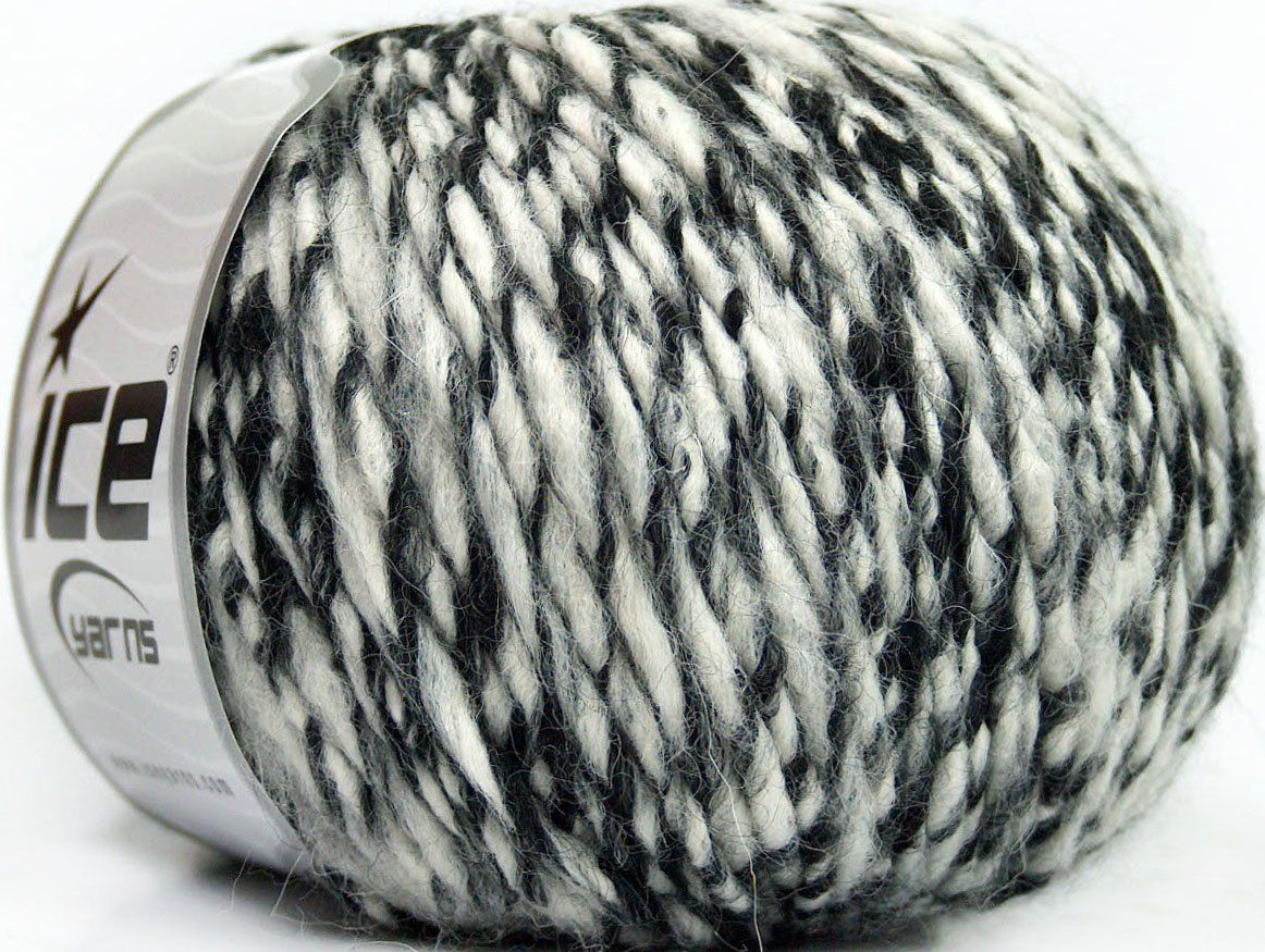 fnt2-35723 Italo Alpaca Bianco grigio Nero