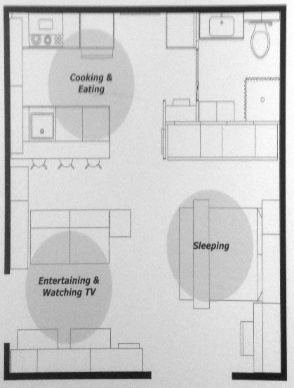 IKEA Small Space Floor Plans  380  sq ft. IKEA Small Space Floor Plans  380  sq ft   garage conversion ideas