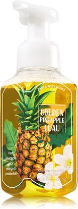 Golden Pineapple Luau Gentle Foaming Hand Soap Soap Sanitizer