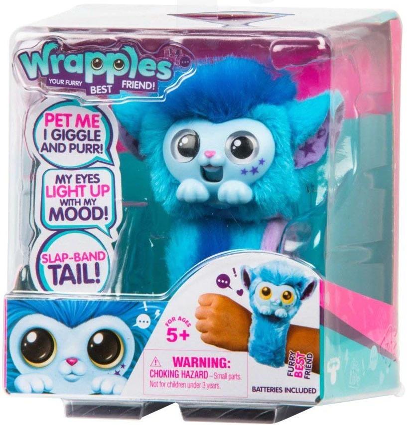 Christmas Little Live Wrapples Pet Plush Doll Interactive Gift Princeza Skyo Toy