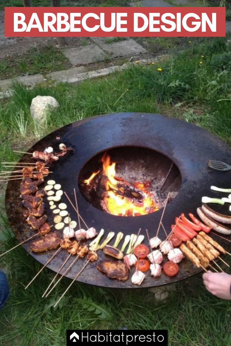 Photo of Barbecue design : nos 5 coups de coeurs du moment ! barbecue extérieur, constru…