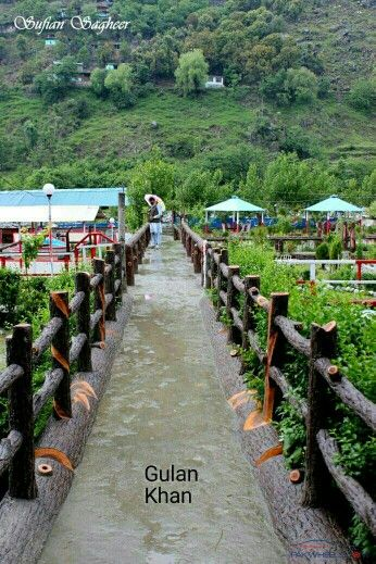 Awesome view of the Madian, Swat valley kpk Pakistan