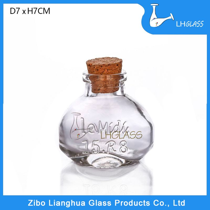 Decorative Bottles Wholesale Pleasing Cute Design Empty Decorative Glass Bottle Vase Wholesale To Japan Design Inspiration