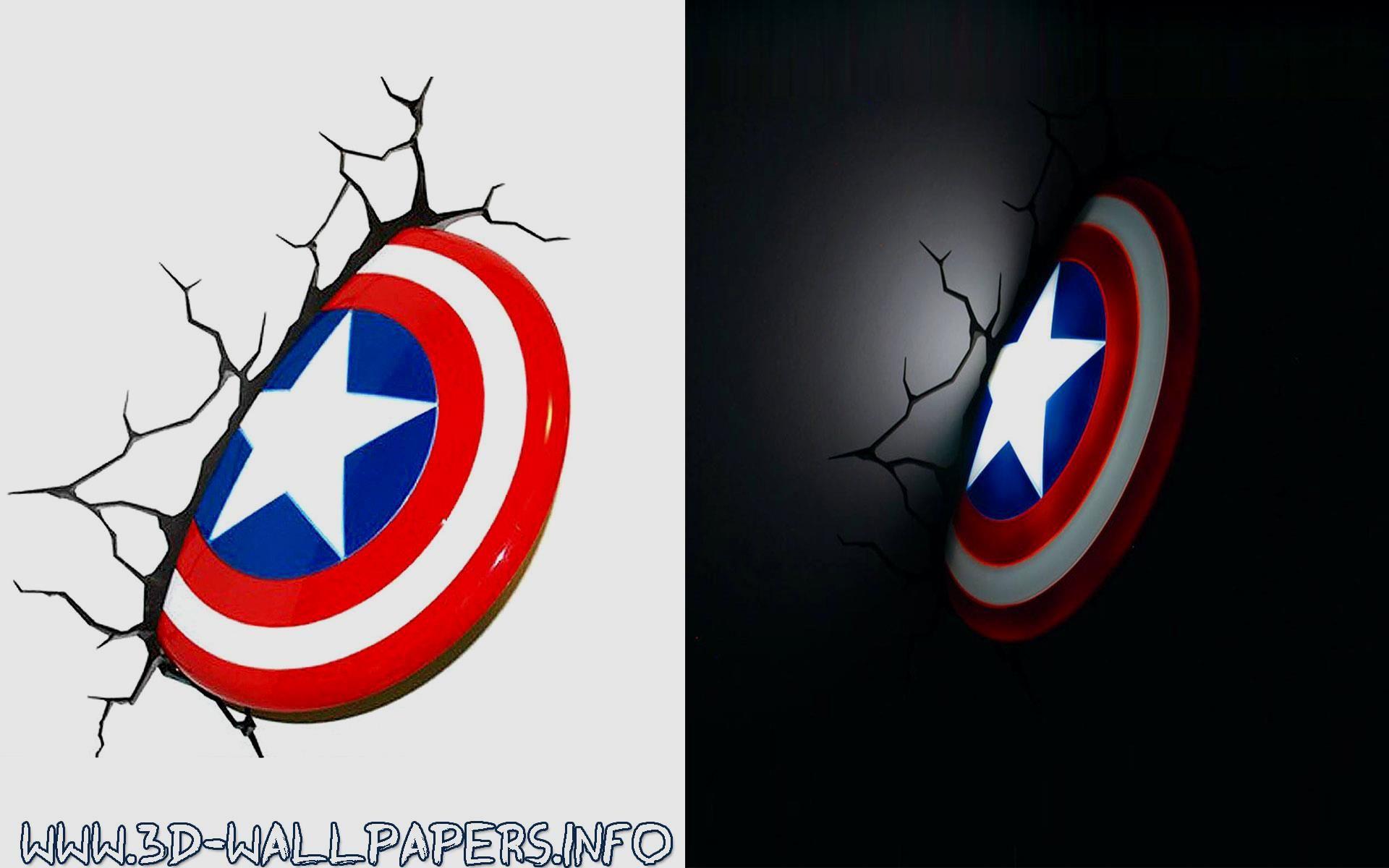 Captain america shield 3d deco led wall light buy it here http captain america shield 3d deco led wall light buy it here aloadofball Images