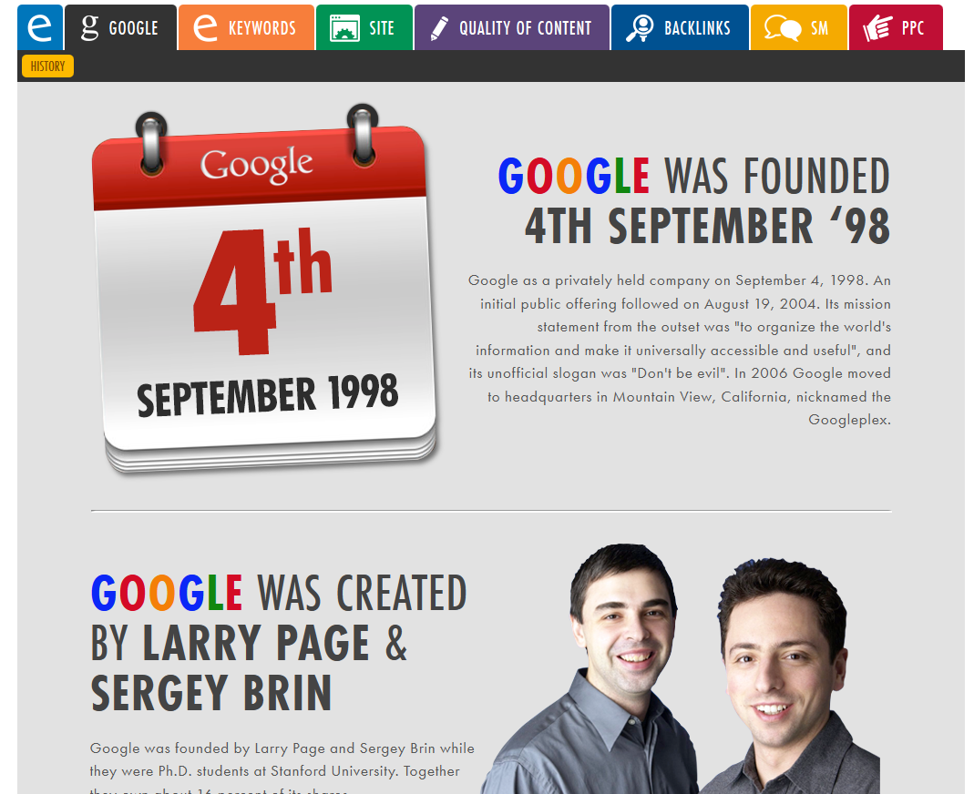 Need a brief overview on Google? Here it is...in our new live portal!