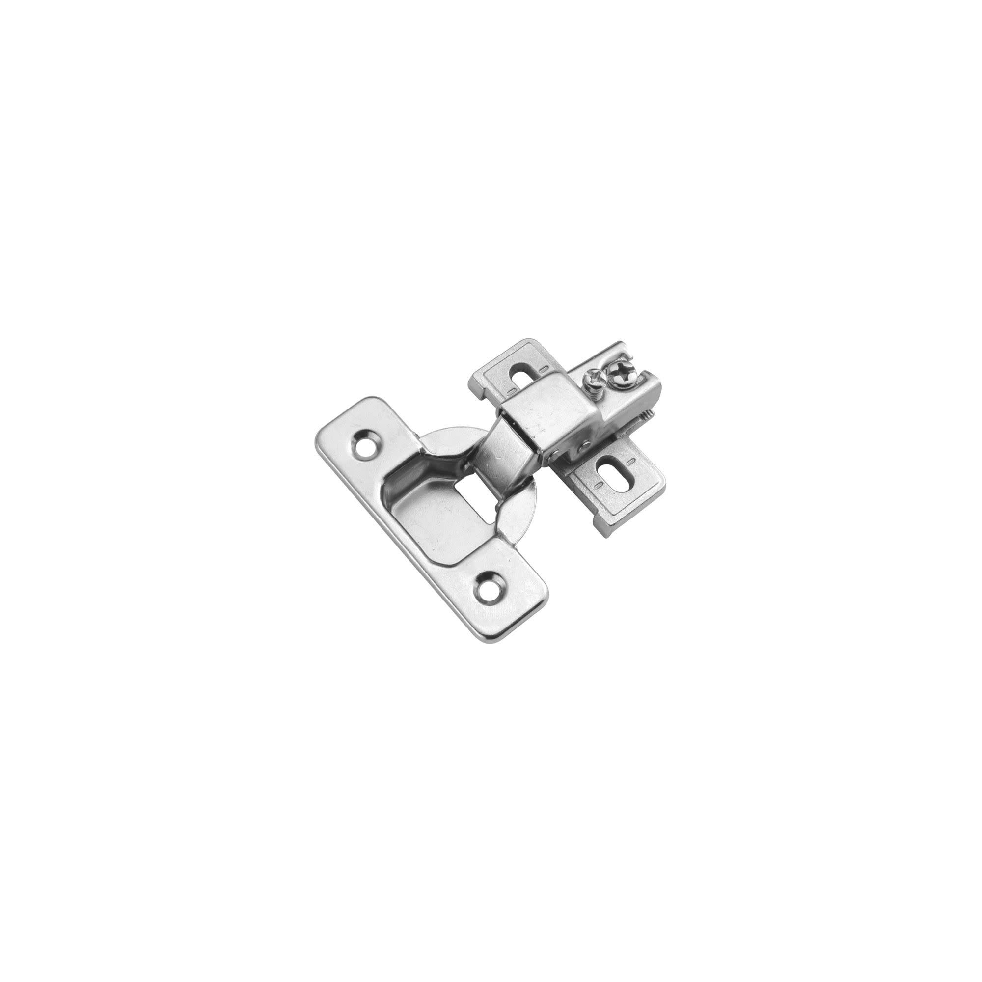 Hickory Hardware P5124 1 2 Overlay Screw On Concealed European Cabinet Door Hinge With 105 Degree Opening Angle Hickory Hardware Door Hinges European Cabinets