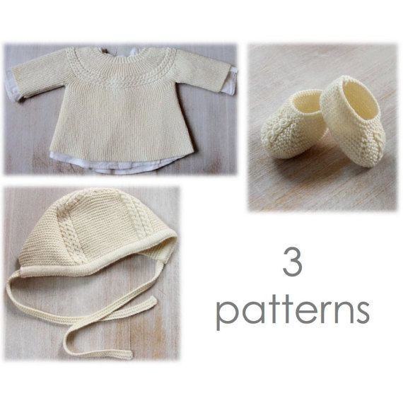 30 / Baby Set / Knitting Instructions in English / PDF Instant ...