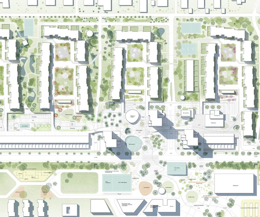 Urban Design Site Plan Urban Design Plan Urban Spaces Design Landscape Design Plans