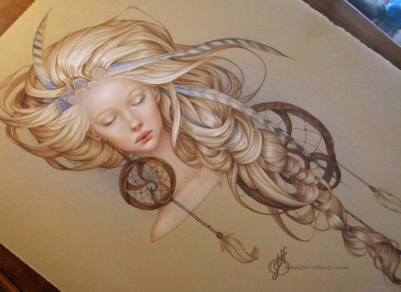 watercolor | the dancing rest