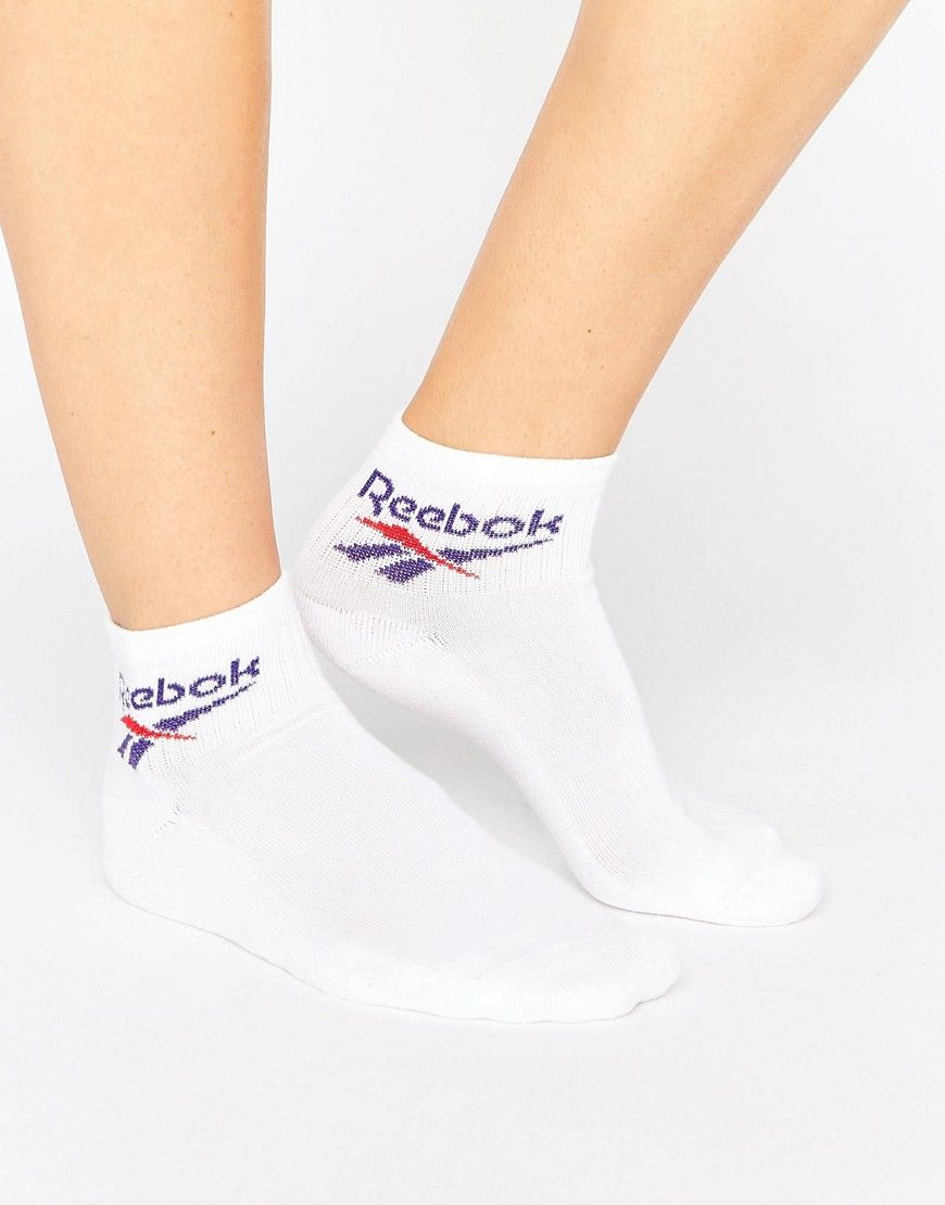 Reebok pack of three logo ankle socks Buy Cheap Best Prices Classic Cheap Price Cheap Low Shipping Fee idIblc