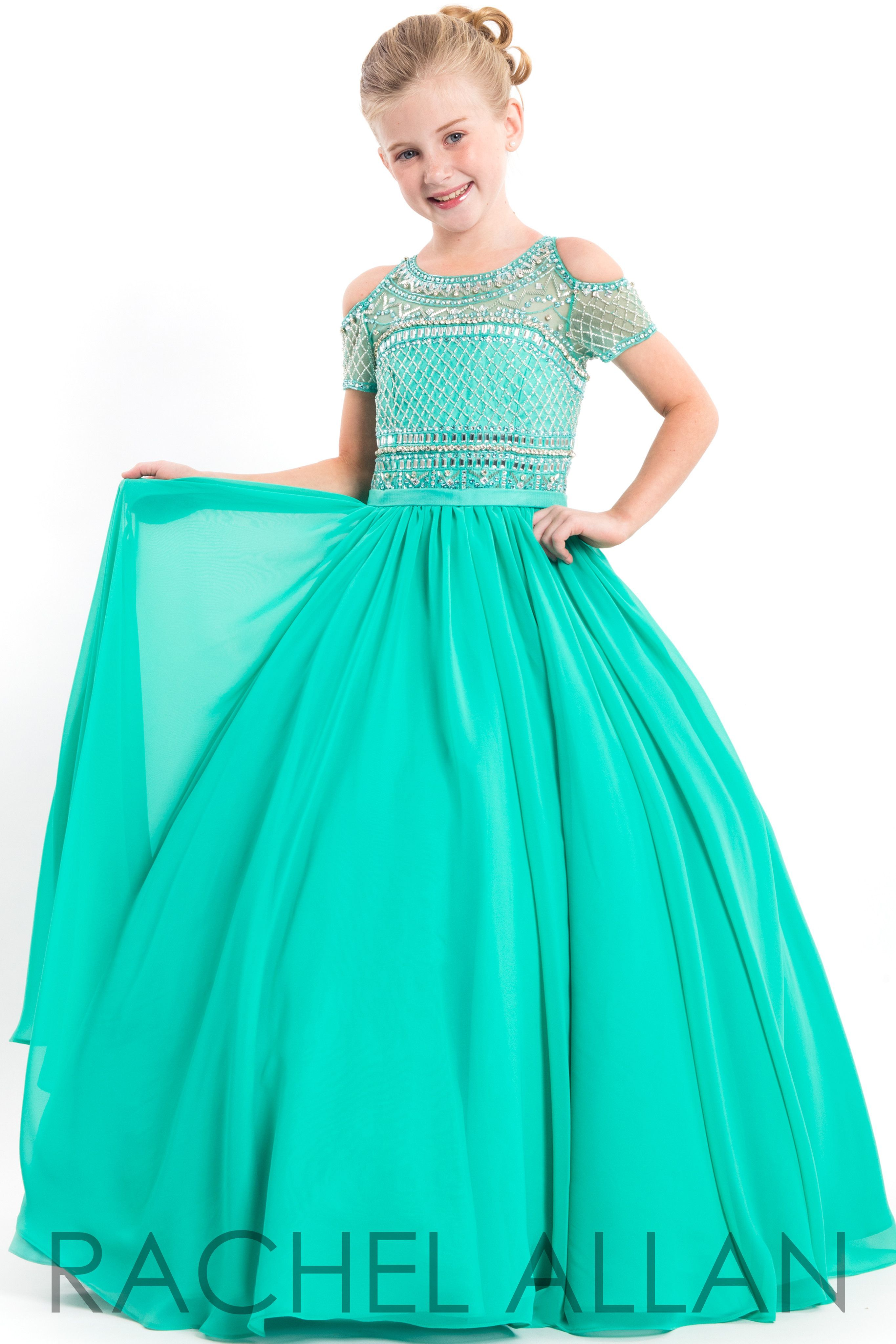 Perfect angels jade girls pageant dress products pinterest